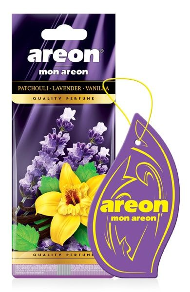 Patchouli MA34 – Areon Mon Hanging Car Air Freshener