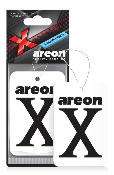 Summer Dream XV13 – Areon X Hanging Best Car Air Freshener (pack of 3)