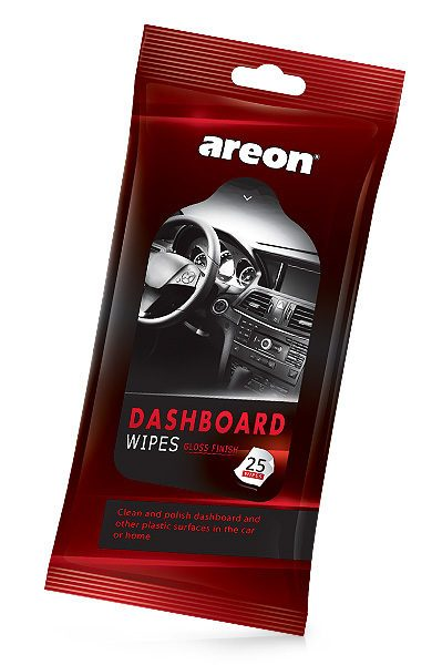Dashboard Wipes CWW02 – Areon CAR wipes (pack of 12)