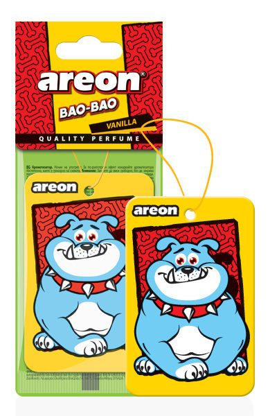 Vanilla BAO – Areon Mao Bao Car Air freshener (pack of 3)
