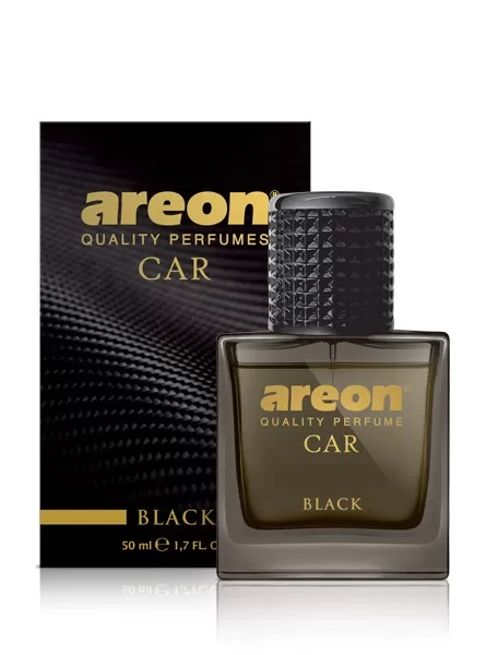 Black MCP01 – Areon Car Perfume Air Freshener Spray Glass Bottle 50ml