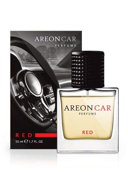 Red MCP03 – Areon Car Perfume Air Freshener Spray Glass Bottle 50ml