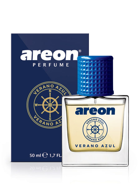 Verano Azul MCP07 – Areon Car Perfume 50ml (pack of 3)