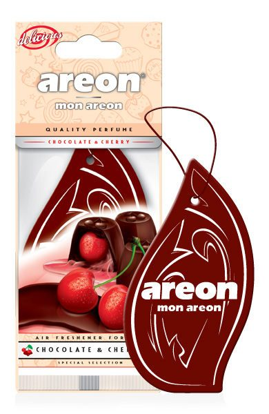 Chocolate & Cherry MAD02 – Areon Mon Hanging Car Air Freshener (pack of 3)