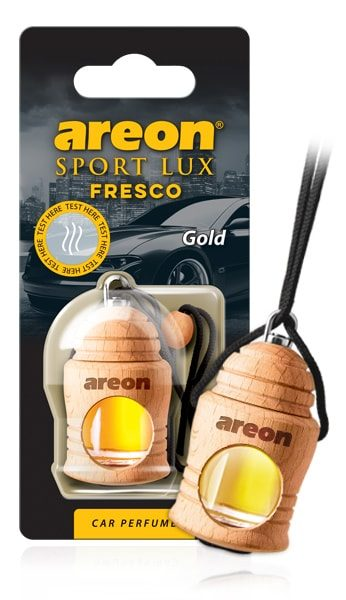 Gold FSL01 Areon Fresco Car Air Freshener