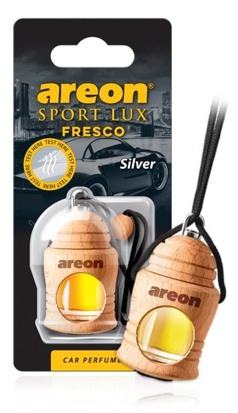 Silver FSL02 Areon Fresco Car Air Freshener