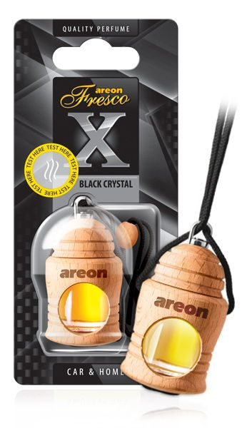 Black Crystal FRXV01 Areon Fresco Car Air Freshener