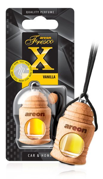 Vanilla FRXV02 Areon Fresco Car Air Freshener