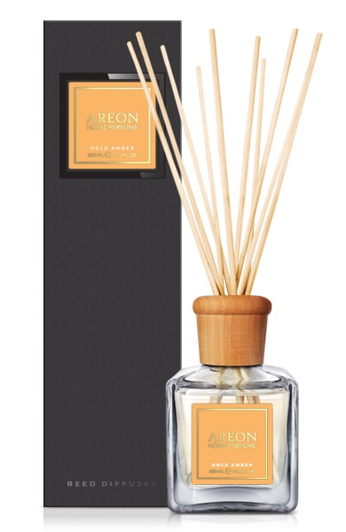 Gold Amber PSB07 – Home Fragrance Reed Diffuser 150ml