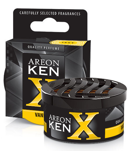 Vanilla KXV02 – Areon Ken Car Scent Air freshener (pack of 12)