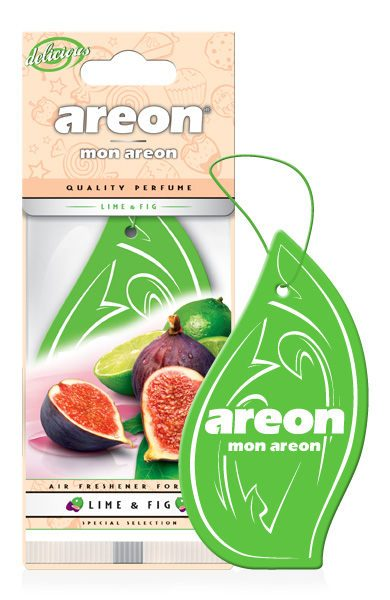 Lime & Fig MAD06 – Areon Mon Hanging Car Air Freshener