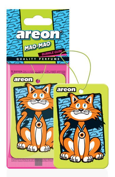 Bubble Gum MAO – Areon Mao Bao Car Air freshener (pack of 12)