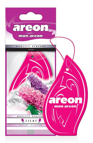 Lilac MA19 – Areon Mon Hanging Car Air Freshener