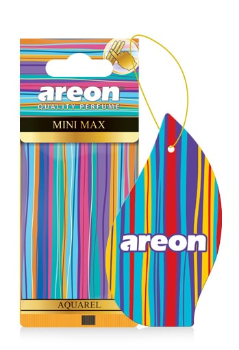 Aquarel AMM02 – Areon Mini Max Car Air freshener (pack of 3)