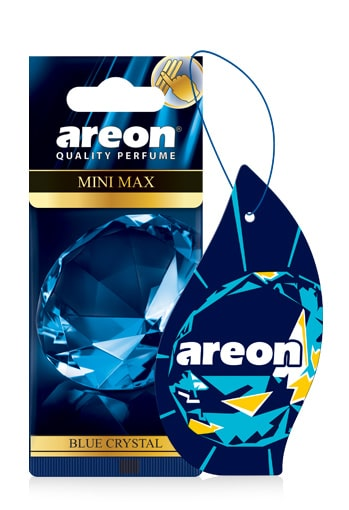 Blue Crystal AMM04 – Areon Mini Max Car Air freshener (pack of 3)