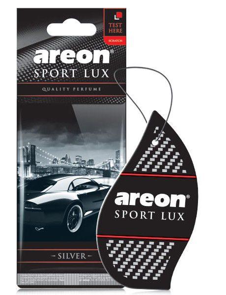 Silver SL02 – Areon Sport Lux Car Perfume Air Freshener