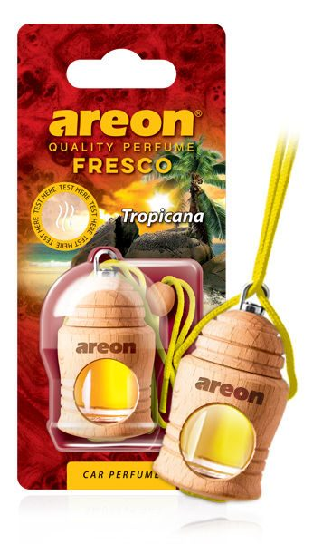 Tropicana FRTN16 Areon Fresco Car Air Freshener (pack of 12)