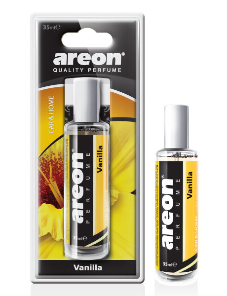 Vanilla PFB16 – Areon Perfume Car Air Freshener Spray 35ml Blister (pack of 12)