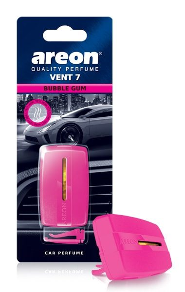 Bubble Gum V707 – Areon Vent 7 Car Air Freshener Vent Clips