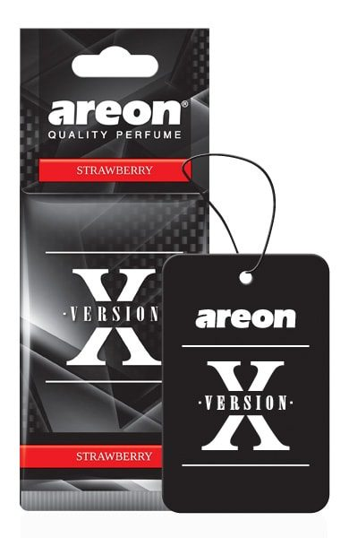 Strawberry AXV06 – Areon X Version Hanging Best Car Air Freshener