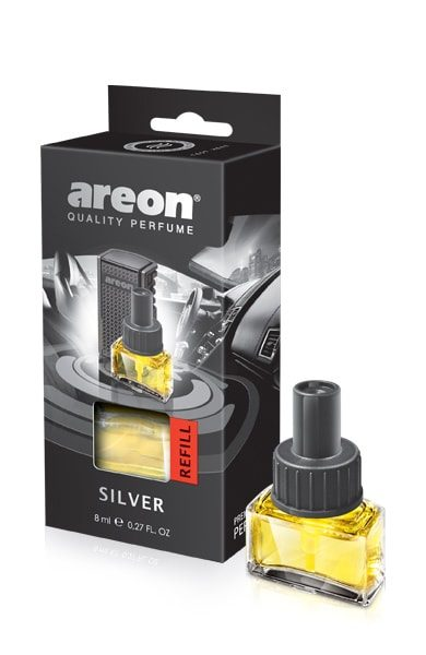 Silver ACR02 – Areon Car Refills (pack of 12)