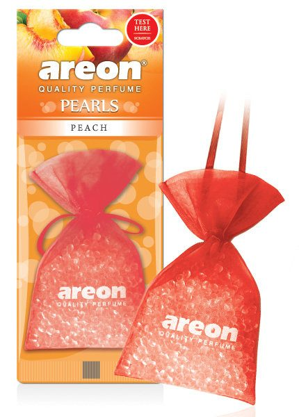 Peach ABP10 – Areon Pearls Car Air Freshener (pack of 3)