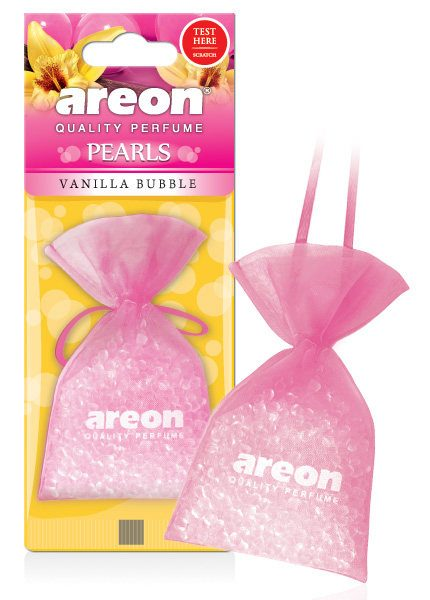 Vanilla Bubble ABP08 – Areon Pearls Car Air Freshener (pack of 3)