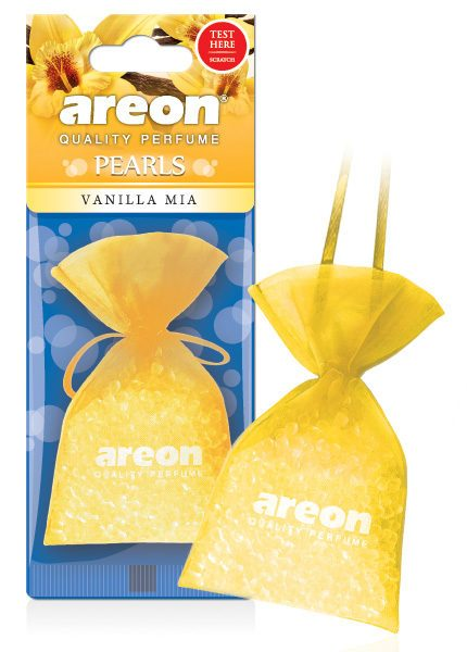 Vanilla Mia ABP07 – Areon Pearls Car Air Freshener (pack of 12)