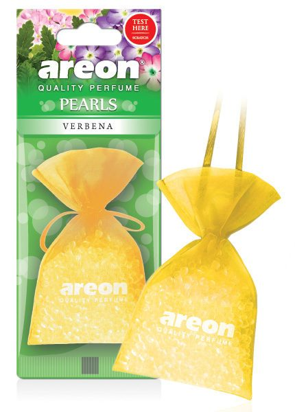 Verbena ABP06 – Areon Pearls Car Air Freshener (pack of 3)