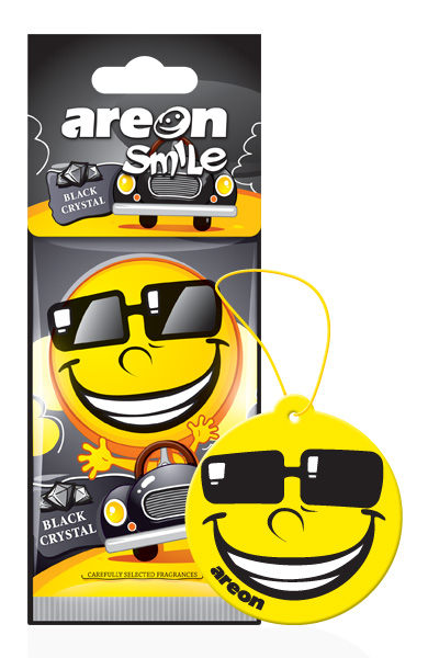 Black Crystal ASD19 – Areon Smile (pack of 3)