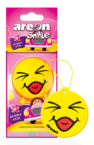 Bubble Gum ASD12 – Areon Smile (pack of 3)