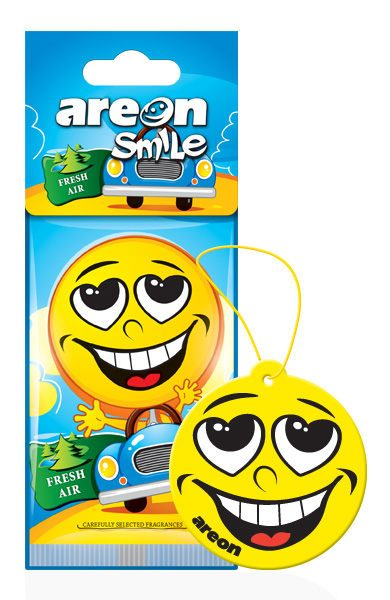 Fresh Air ASD18 – AREON Smile Funny Car Air freshener (pack of 12)