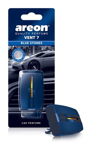 Blue Stones V706 – Areon Vent 7 Car Air Freshener Vent Clips (pack of 12)