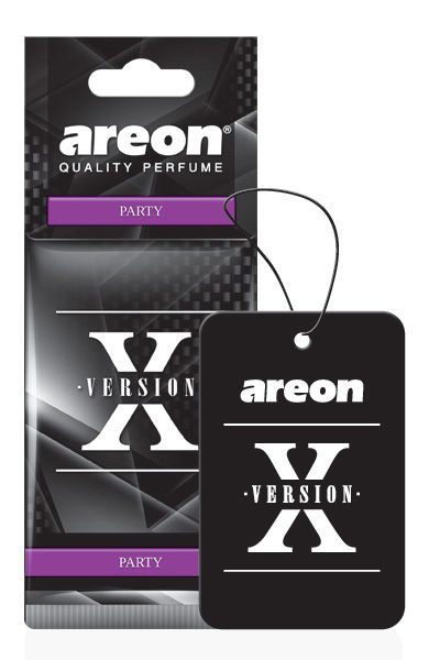 Party AXV01 – Areon X Version Hanging Best Car Air Freshener (pack of 3)