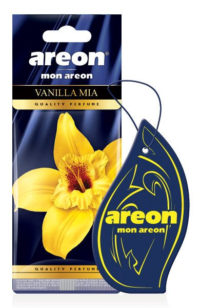 Vanilla Mia MA30 – Areon Mon Hanging Car Air Freshener (pack of 12)