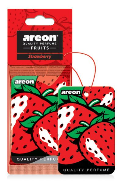 Strawberry AF06 – Areon Mon Hanging Car Air Freshener (pack of 3)