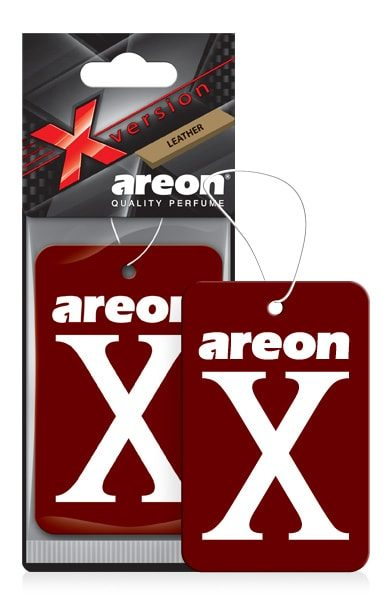 Leather XV07 – Areon X Hanging Best Car Air Freshener