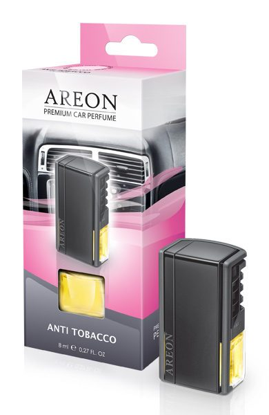 Anti Tobacco ACP04 Areon Car Air Freshener Vent Clips (pack of 12)