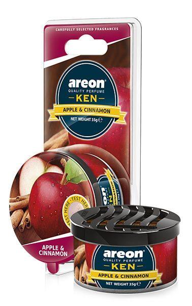 Apple & Cinnamon AKB08 – Areon Ken Car Scent Air freshener Blister (pack of 3)