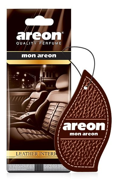 Leather Interior MA42 – Areon Mon Hanging Car Air Freshener (pack of 3)