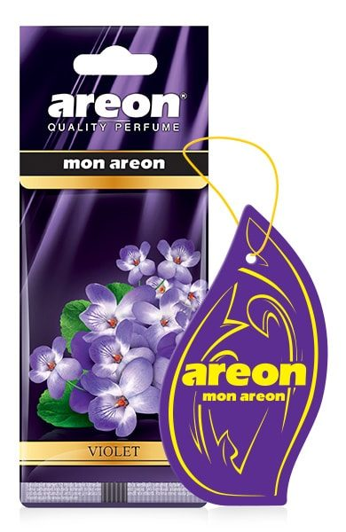 Violet MA43 – Areon Mon Hanging Car Air Freshener