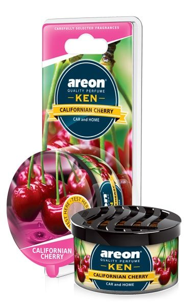 Californian Cherry AKB18 – Areon Ken Car Scent Air freshener Blister (pack of 3)
