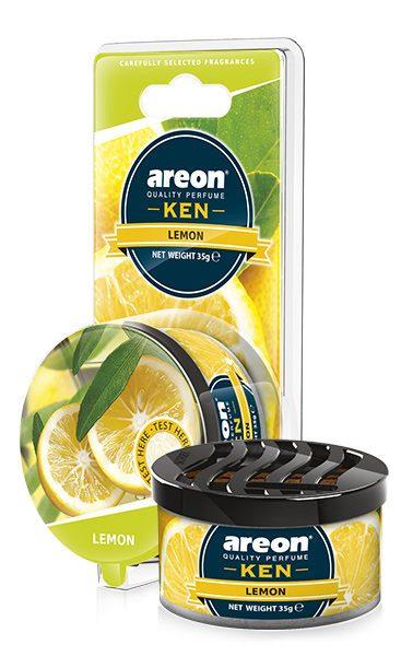 Lemon AKB05 – Areon Ken Car Scent Air freshener Blister (pack of 3)