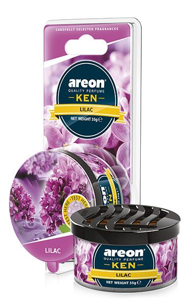 Lilac AKB10 – Areon Ken Car Scent Air freshener Blister (pack of 12)