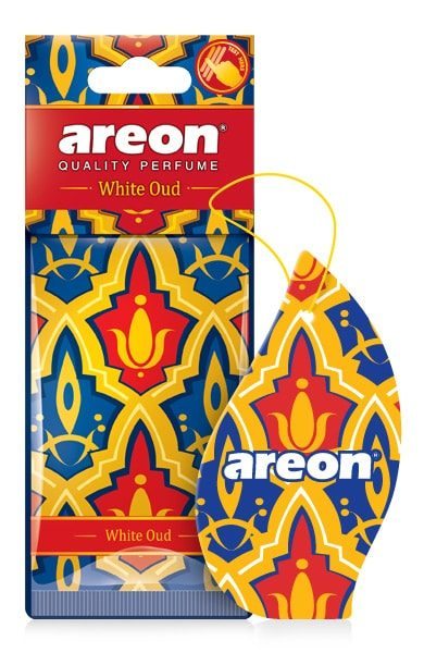 White Oud MO03 – Areon Car Air Freshener (pack of 3)