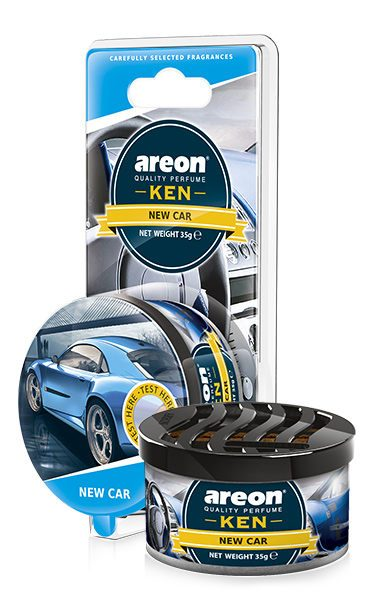 New Car AKB11 – Areon Ken Car Scent Air freshener Blister (pack of 3)