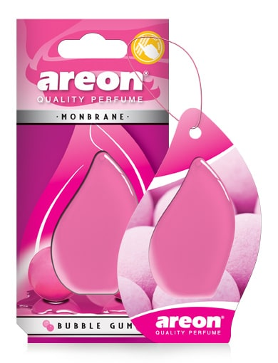 Bubble Gum AMB01 Areon Monbrane Car Air Freshener (pack of 12)