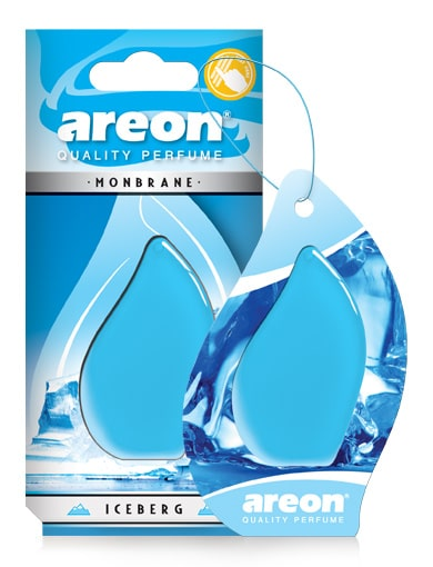 Iceberg AMB06 Areon Monbrane Car Air Freshener (pack of 3)