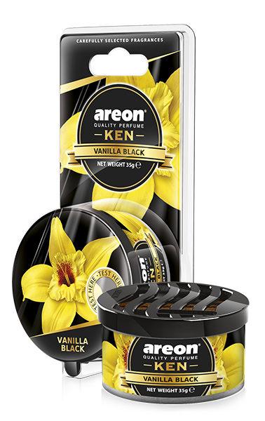 Vanilla Black AKB16 – Areon Ken Blister (pack of 3)