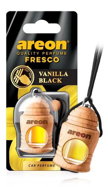 Vanilla Black FRTN31 Areon Fresco Car Air Freshener